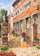 tableau architecture : Château de la Curnière à Tavernes en Provence N°:04 SZ 02