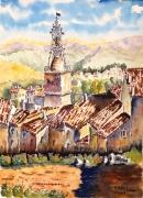 tableau architecture : Cotignac en Provence