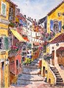 tableau paysages : Le Vieux Nice N° : 10 SZ 02
