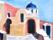 tableau architecture : Le refuge grec