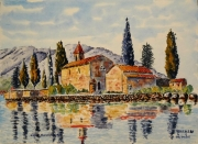 tableau paysages : Kodor au Monténégro N° 06 DS02