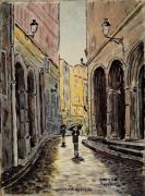 tableau : Lyon rue du Boeuf N° 11 DH 01