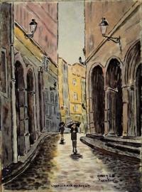 Lyon rue du Boeuf N° 11 DH 01