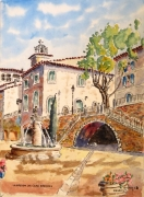 tableau architecture : La Maison de l'Eau à Barjols en Provence N°:04 SZ 03