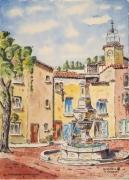 tableau villes : Fontaine  Mazaugues en Provence N°:02 SZ 02