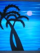 tableau : Palmiers Insolites
