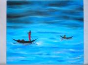 tableau : Lagon Blue Africa
