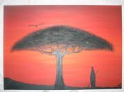 tableau : Horizon Rouge D'Afrique