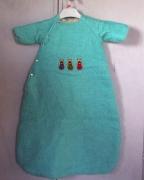 art textile mode animaux gigoteuse layette couture faitmain : gigoteuse