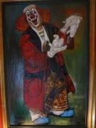 tableau personnages clown : Clown, les bouffonneries d'un nabot 67x100