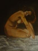 dessin nus : Nu de femme 40x50