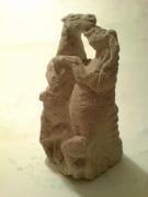 sculpture : affrontement
