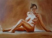 tableau : nue boudeuse
