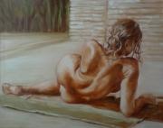 tableau : nue de dos