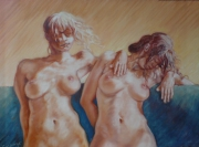 tableau : two nude