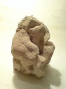 sculpture : chevaux enlacé