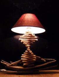 Lampe barque