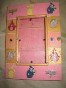 artisanat dart enfant feerie bois porteclef : Porte-clefs fillette