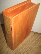 artisanat dart livre bois rangement : Porte-livre