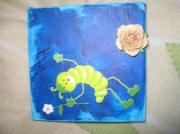 artisanat dart personnages bois nature enfant fleur : Champêtre