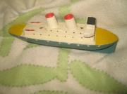 bois marqueterie bois bateau bois antiquite : Bateau