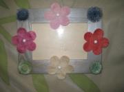 bois marqueterie fleurs enfant bois cadre fleurs : Fleurs