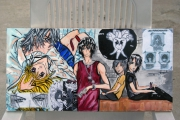 tableau personnages mangas acrylique personnages japon : Nightmare