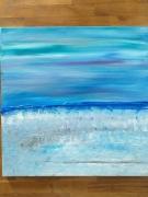 tableau paysages : Aqua blue