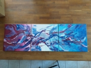 tableau abstrait : Valkyrie