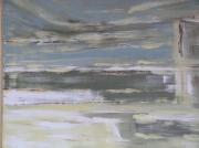 tableau abstrait port : le port