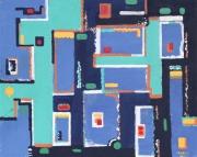 tableau abstrait armoire : les armoires