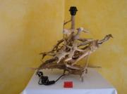 artisanat dart autres : lampe n° 1  en bois flotté