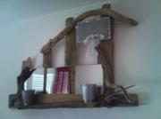 artisanat dart autres miroir bois flotte photo deco : cocoon