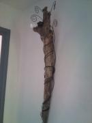 mixte autres applique lampe bois flotte : torche