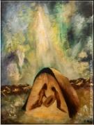 tableau creche noel chretien jesus : 25 décembre