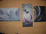 tableau fleurs : fleur jumelle