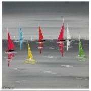 tableau marine : en pleine mer