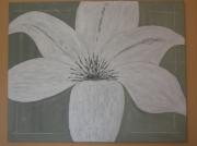 tableau fleurs : fleur de lys