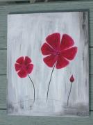 tableau fleurs viollette : Violette