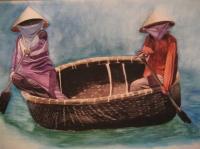 Pêcheurs -Vietnam