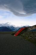 photo paysages volcan paysage lunaire : Volcan, paysage islandais