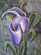 tableau fleurs fleurs : Brut