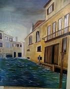 tableau paysages eau batiment : 2012