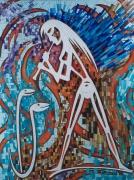 tableau scene de genre jean claude nathalie joinville le pont : Peintures-Ambosablis