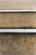 tableau abstrait paysage abstrait 198 peinture abstraite pastel illustration : Paysage abstrait 1981