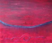 tableau : corde rouge
