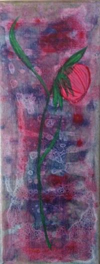 Rose bulles