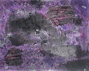 tableau : Noir-violet
