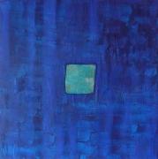 tableau : carré bleu