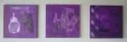 tableau : Trio violet